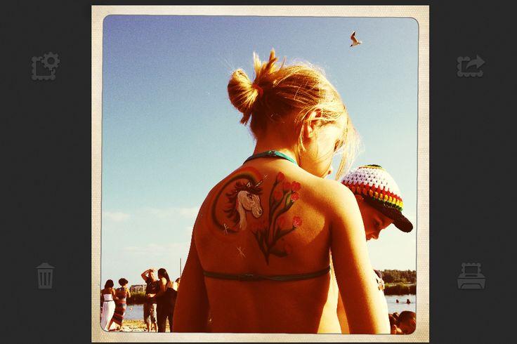 Little horse paint tattoo