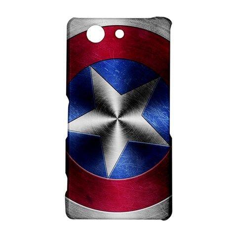 Shield Captain America Sony Xperia Z3 Compact Case Hardshell