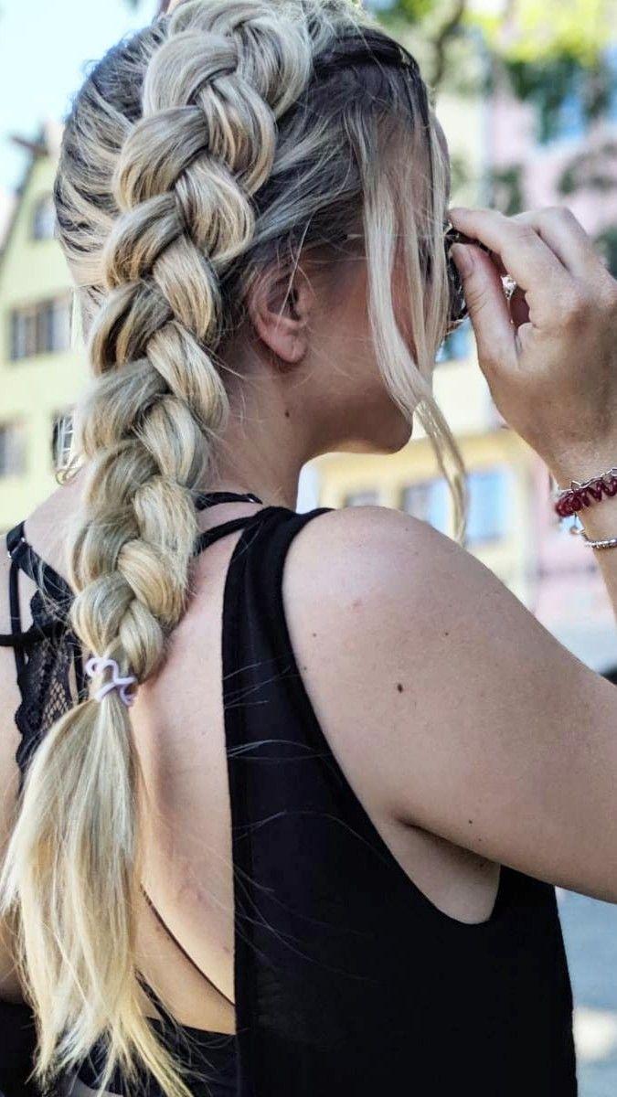 10+ Frisuren lange haare zopf Ideen im Jahr 2021