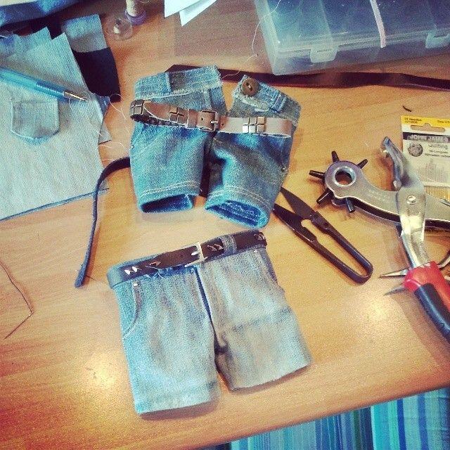 #Feeple60 #shorts #jeans  #SD #bjd #doll #fashion #clothes