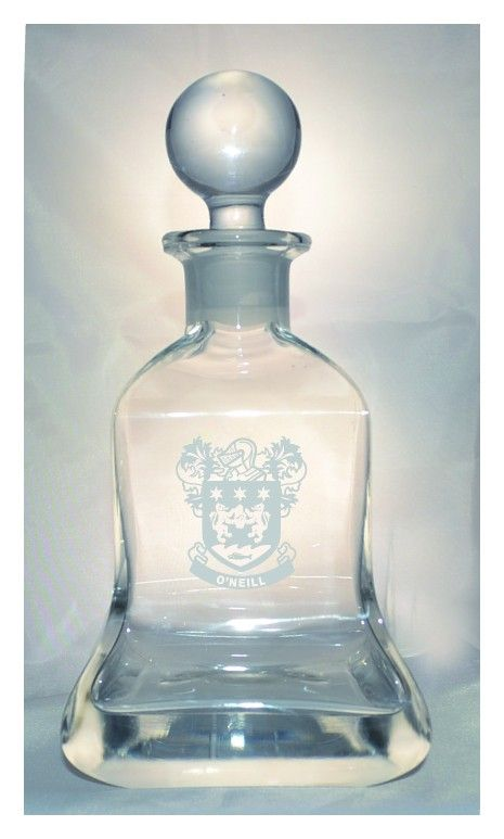 The Wishlist Gifts - Avalon Square Crystal Decanter  Was €99.95 NOW €59.95