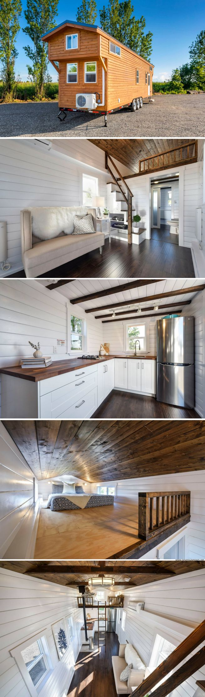 The Loft Edition from Mint Tiny House Company