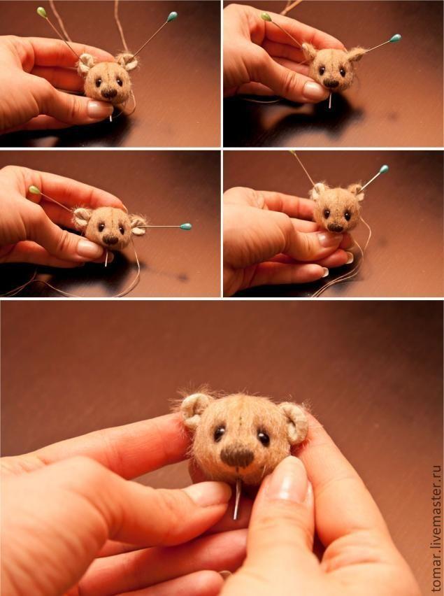 мишка до 10 см - Ярмарка Мастеров - ручная работа, handmade