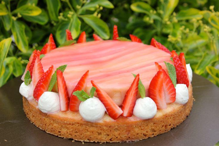 Fantastik fraise rhubarbe