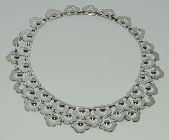 Shiny statement necklace
