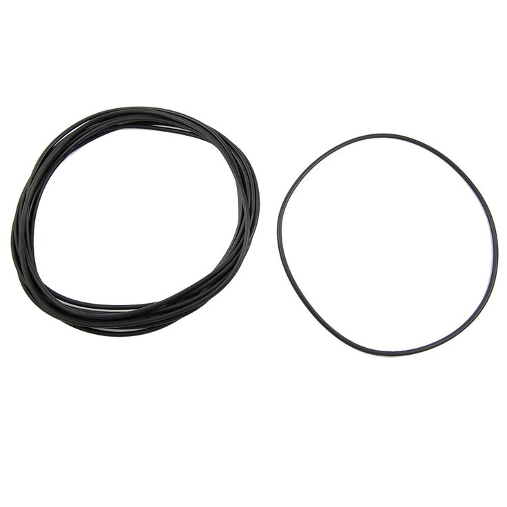 UXCELL 10 Pcs Metric O Rings Black Nitrile Rubber 165Mm Od 3.5Mm Thick #Affiliate