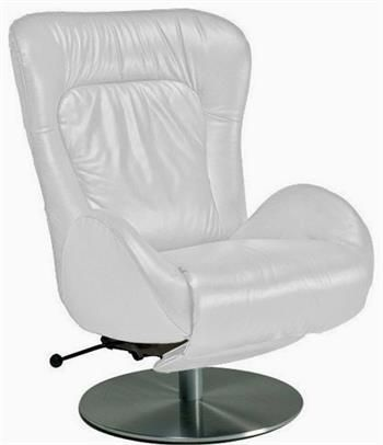 Amy Recliner Chair by Lafer Recliners is an Ergonomic Swivel Recliner Chair. Modern Leather Swivel Recliner Amy GL Chairs by Lafer features backrest, headrest and footrest controls.  Lafer Recliners specializes in swivel leather recliner chairs.