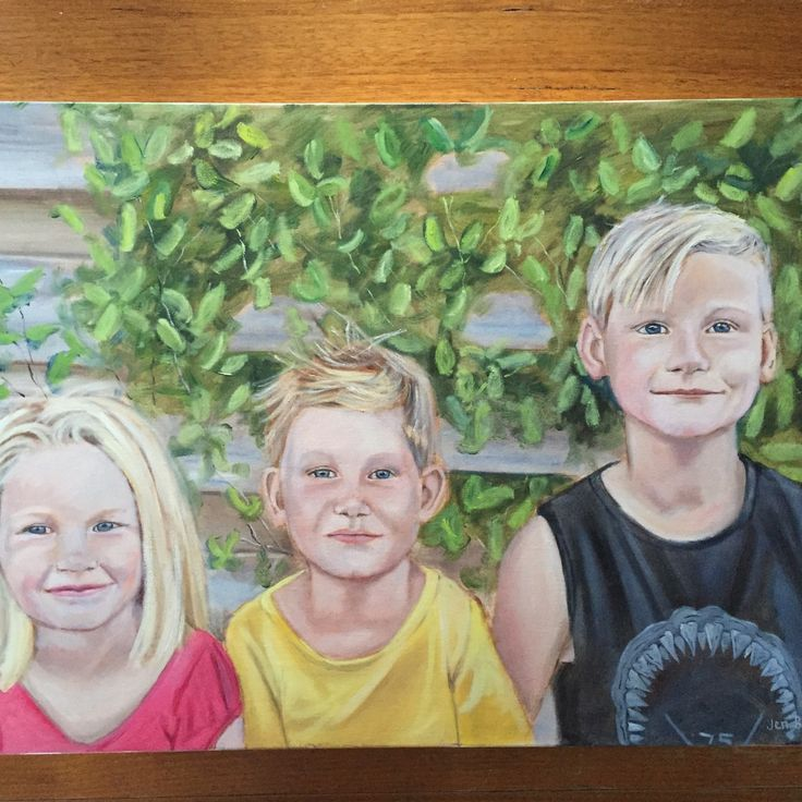 Another sibling portrait completed :)