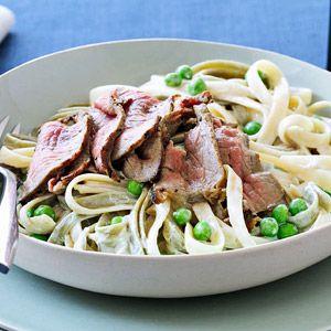 Pork fettuccine alfredo recipe