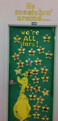 The Sneetches... Classroom Decoration :)