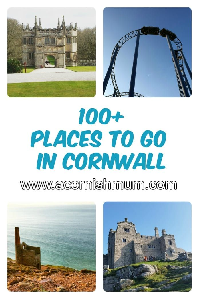 Over 100 Things to do and Places to go in Cornwall UK. Perfect for planning your holiday in Cornwall or for finding things to do in the school holidays in Cornwall. Gardens , theme parks, swimming pools and more. Bodmin St Austell Truro Penzance Land's End Helston Flambards Bude Padstow and a whole lot more. Cornwall holiday fun!