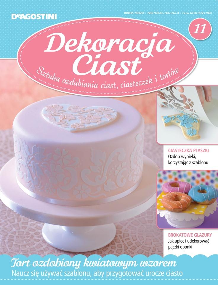Numer 11 Dekoracji Ciast. Sprzedaż archiwalna: http://sklep.deagostini.pl/dekoracja-ciast-numer-11.html