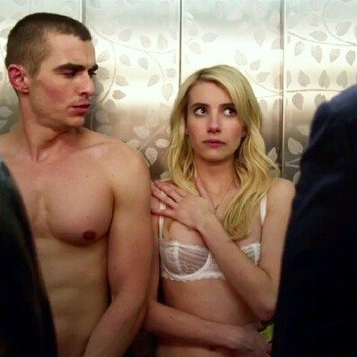 We've gotta admit we're loving Emma Roberts' taste in bras in her new movie Nerve!  This was spotted on screen when one of our own went to see the movie last week... what can we say we can't help but notice beautiful lingerie!  And this happens to be one of our favorites: the Merci bra by @chantelle_paris in White.  Stop in to try this one on and let us help you find the perfect fit!  #needsit #nervemovie #emmaroberts #bra #brafitting #lingerie #lingerieboutique #luxurylingerie #intimates…