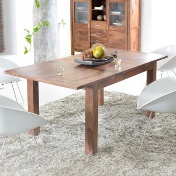 Cette table en palissandre à rallonges 180 x 90 Mezzo de Tikamoon est une table ravissante, en palissandre massif.  Avec les chaises de la collection Mezzo, le tout sera du plus bel effet... Cliquez sur l'image pour avoir plus de détails sur cette table en palissandre massif et la collection Mezzo !