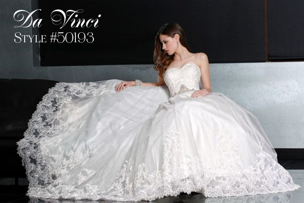 davinci wedding dresses