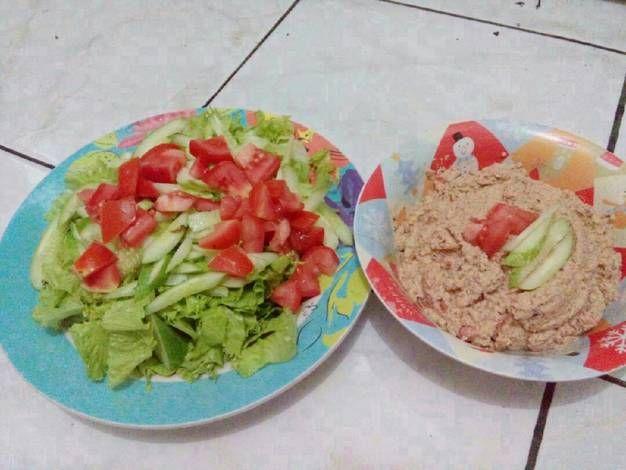 Resep Salad Sehat Dressing Nut Salad No Salt Tanpa Garam Gula Oleh Kim Ns Resep Resep Salad Salad Resep Salad Sehat