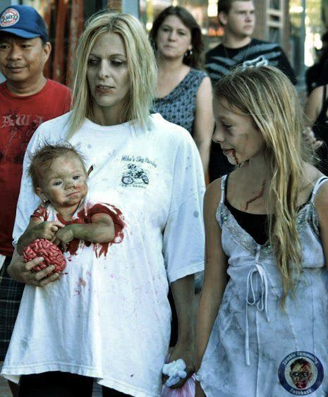 Zombie baby #awesome