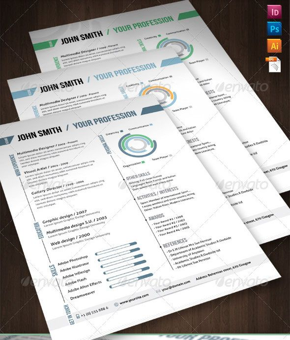 33 best CV ideas images on Pinterest Photoshop, Adobe indesign - adobe indesign resume template