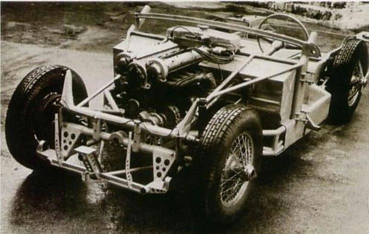 JK 2500, with Alfa Romeo V6 2500 engine, Czechoslovakia, 50s, creater Julius Kubinsky