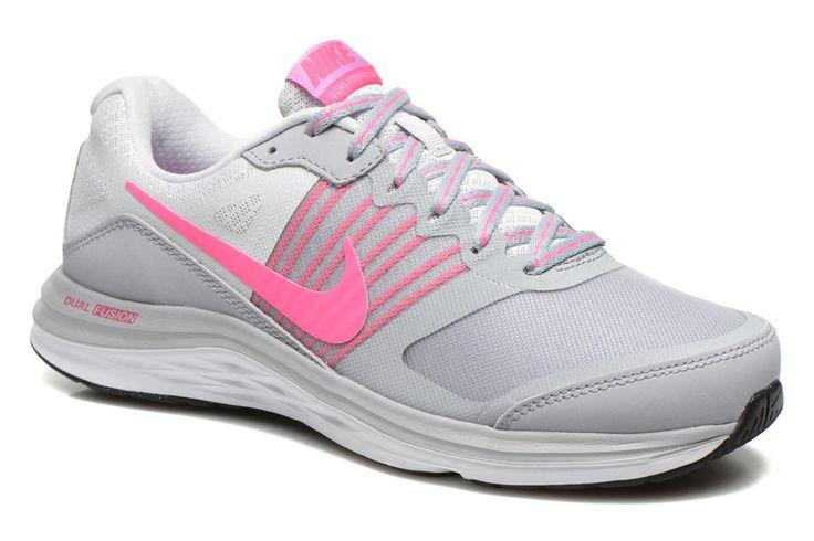 ¡Cómpralo ya!. Wmns Nike Dual Fusion X by Nike. ¡Envío GRATIS en 48hr! Zapatillas de deporte Nike (Mujer), disponible en 42 , deportivas, sport, deporte, deportivo, fitness, deportivos, deportiva, deporte, trainers, sporty, plimsoll, sportschuhe, tenis, chaussuressportives, sportive, deportivas. Deportivas  de mujer color gris de Nike.