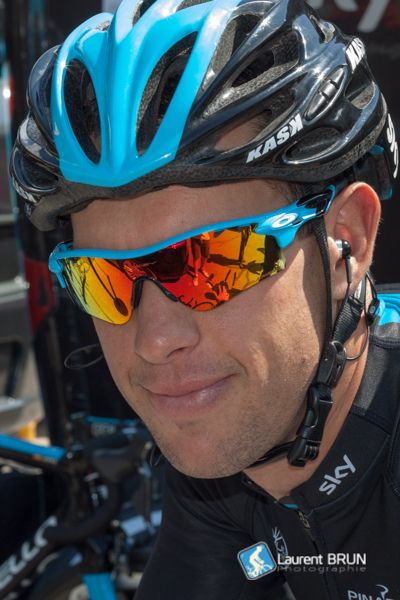 Richie porte sky pro cycling team wearing custom oakley for Richie porte cyclist