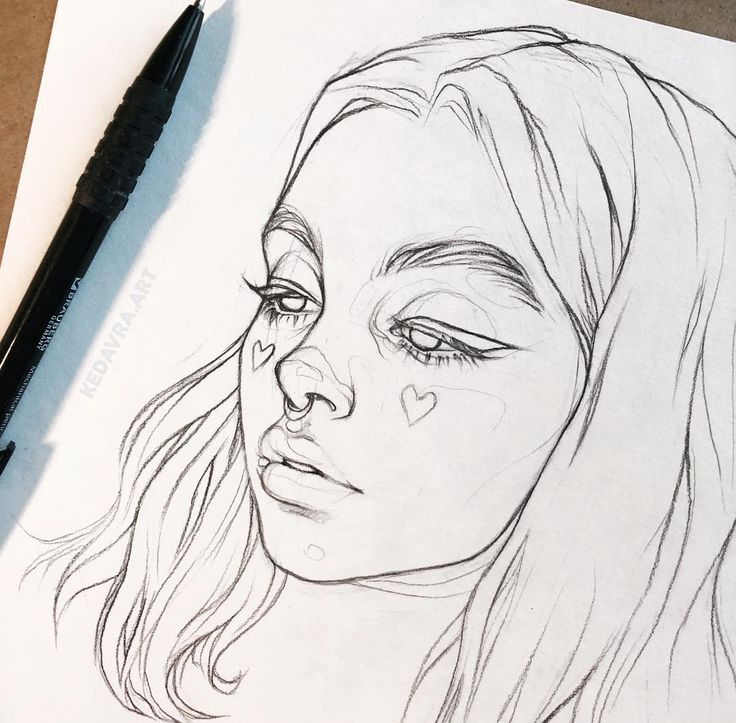 In the photo @mirna_kaplan I will do in color ?. . . . #art # art? #drawing #draw #sketchbook