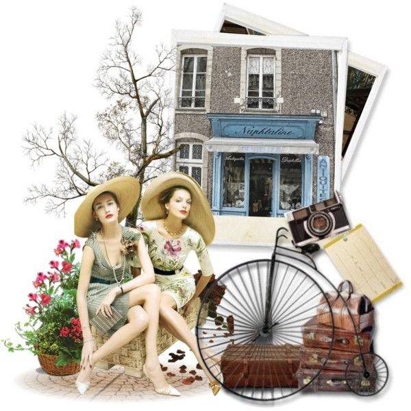 """Vintage"" by yoyinicus on Polyvore"