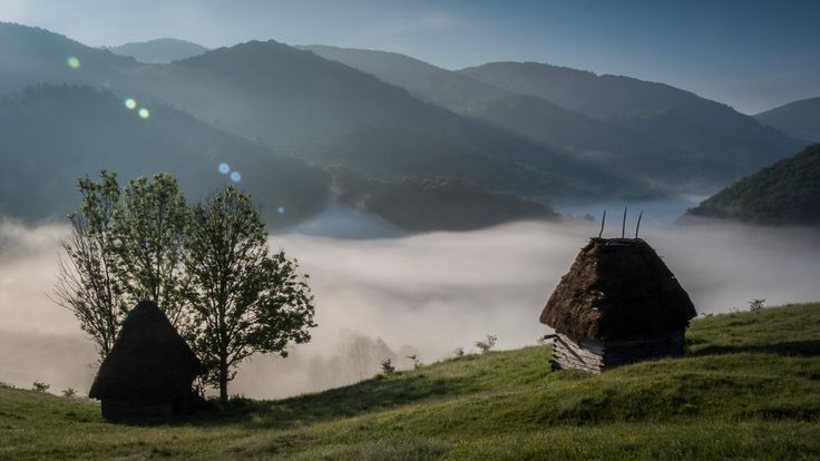 Morning in the Apuseni Mountains - Romania