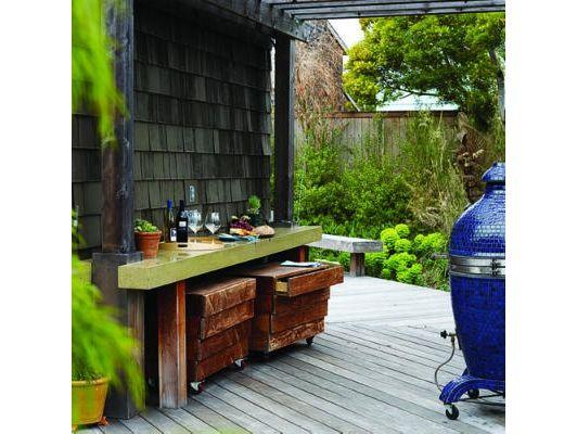 Concrete side table - Home and Garden Design Idea's