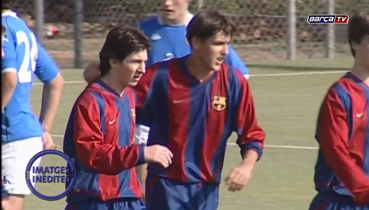 Never-before-seen video of Leo Messi with FC Barcelona's U-16 team [Video] - http://www.yardhype.com/leo-messi-u-16-team/