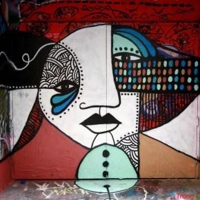 famous graffiti artists melbourne