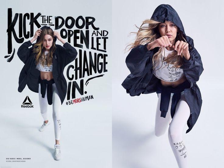 Reebok enlists brand ambassador Gigi