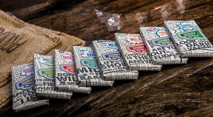 De 8 nieuwe chocoladesensaties van Johnny Doodle - Lovemyfood.nl