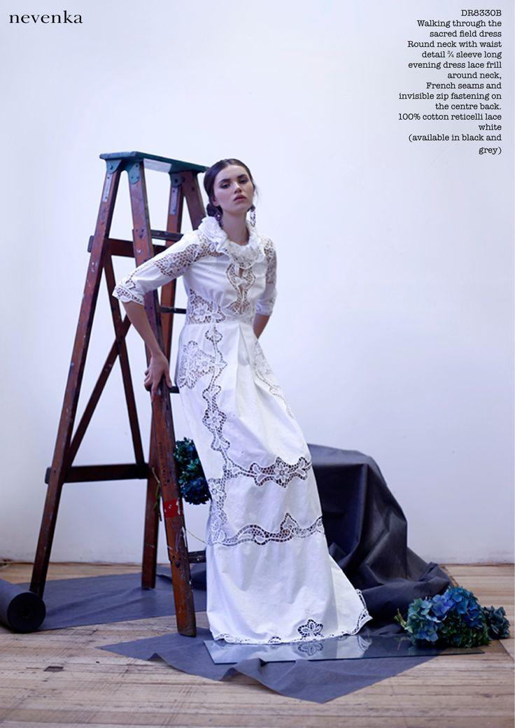 NEVENKA AW14 LONE WOLF COLLECTION #fashion #a/w #designer #nevenka #lookbook #photoshoot #editorial #beautiful # luxury #luxe #beauty #FashionInspo #goddess #lonewolf #studio #gown www.nevenka.com.au