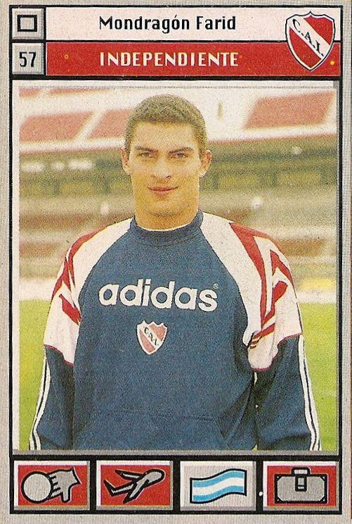 1995 Farid Mondragon #57 Independiente de Avellaneda