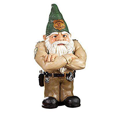 Whimsical Gnomeland Security Garden Statue