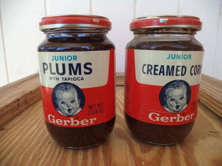 Baby Food Plums Gerber Food