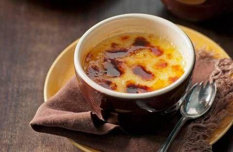 Crème brûlée    It's custardy, creamy, cinnamony and caramely…it's splendour in a pot!