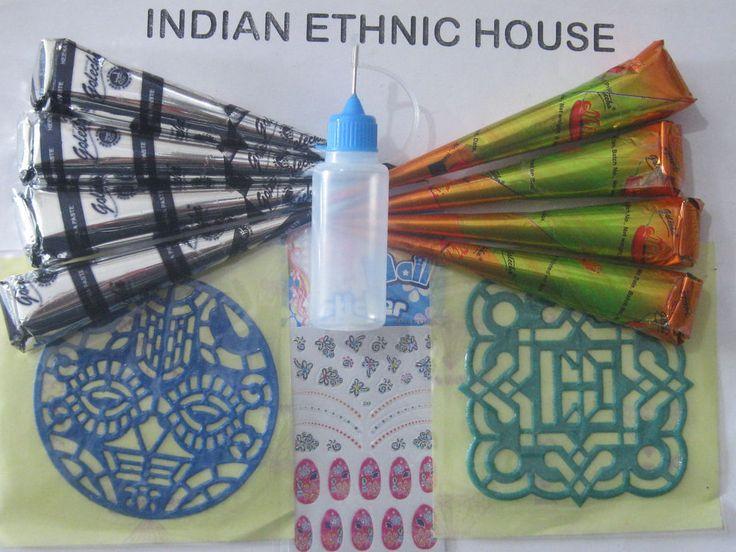 Henna Tattoo Kits Uk : Best teperary brown henna tattoo kit images