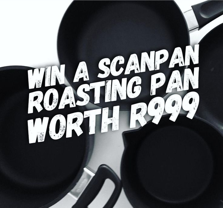 COMPETITION TIME | Love @scanpansa? We do. And were celebrating this amazing brand all month long! But because we want to celebrate with you well be giving you the chance to get your hands on your very own Scanpan products - a roasting pan worth R999!  Entering is easy. Just follow these three simple steps:  1) Follow @scanpansa  2) Follow @ilovefoodiesct  3) Comment on this post telling us who your favourite cooking partner is and answering the following question: Which country is Scanpan…