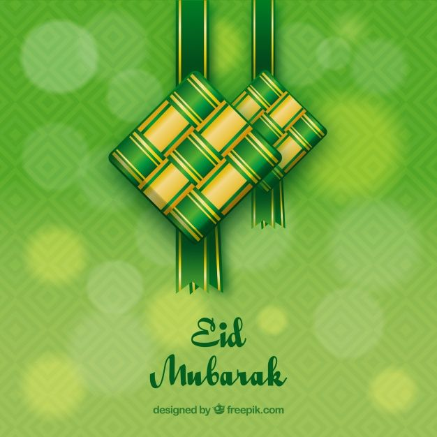 Download Ketupat Background In Flat Design For Free Graphic Design Photoshop Ramadan Background Vector Free