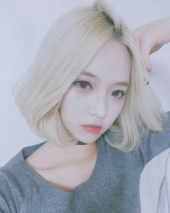 Image Result For White Hair Korean Girl  Oc Pics -4983
