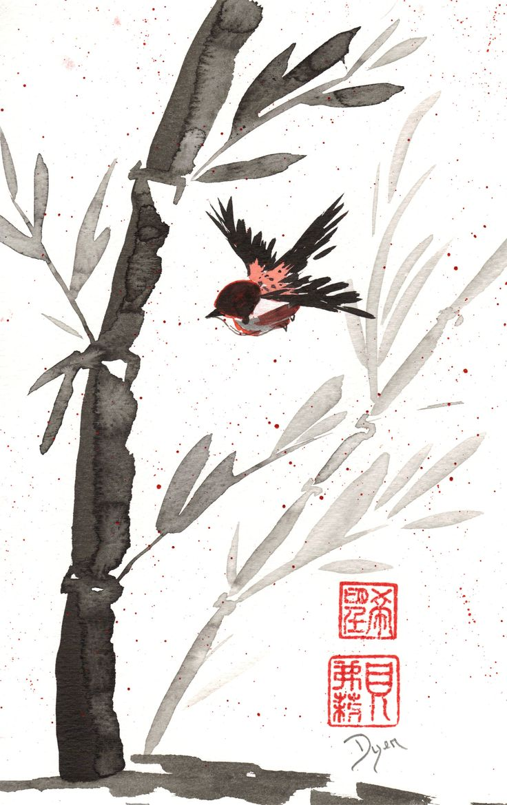 Watercolor art history brush - Haiku September 13 2012 Chinese Brush Painting Art Prescription