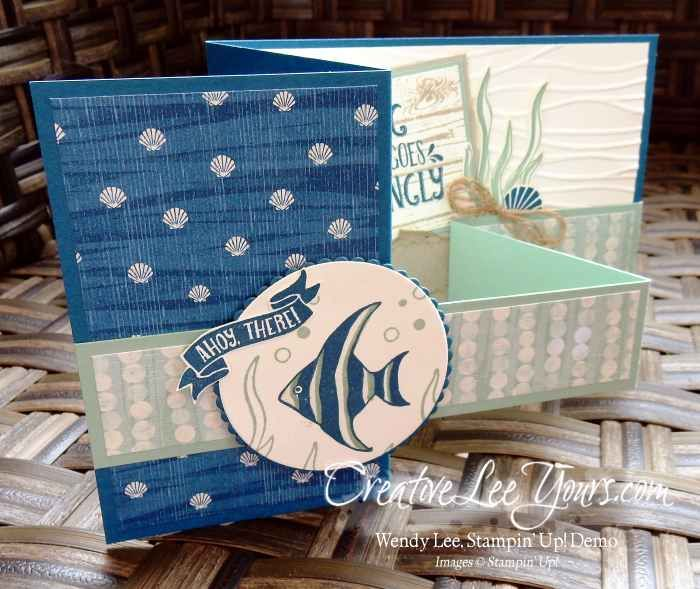 Double Z Seaside Shore by Wendy Lee, Seaside Shore stamp set, Stampin Up…