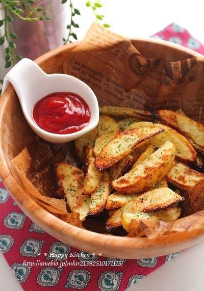 トースターで!揚げないチーズフライドポテト |たっきーママ オフィシャルブログ「たっきーママ@happy kitchen」Powered by Ameba