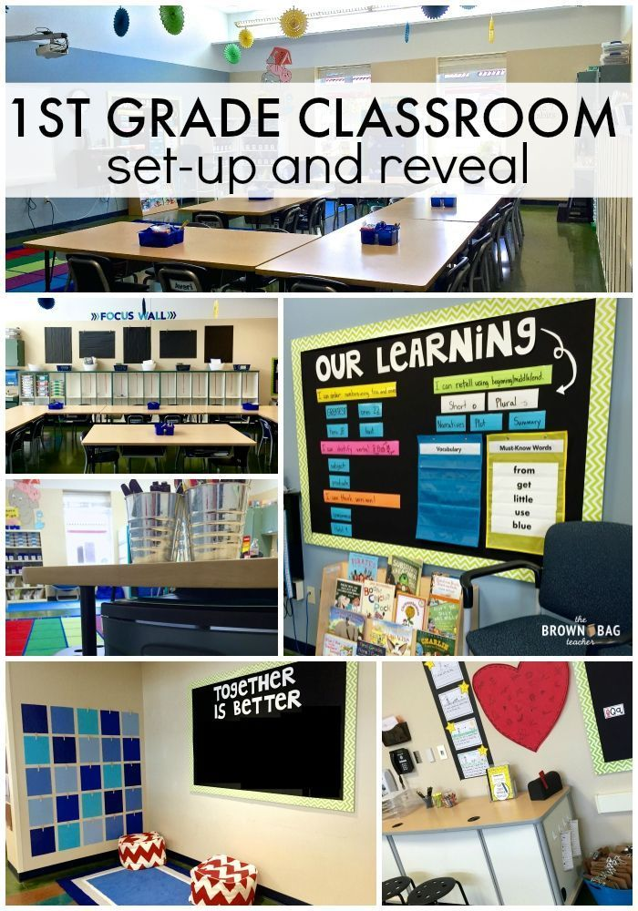 Amazing classroom reveal (and awesome ideas) from The Brown Bag Teacher