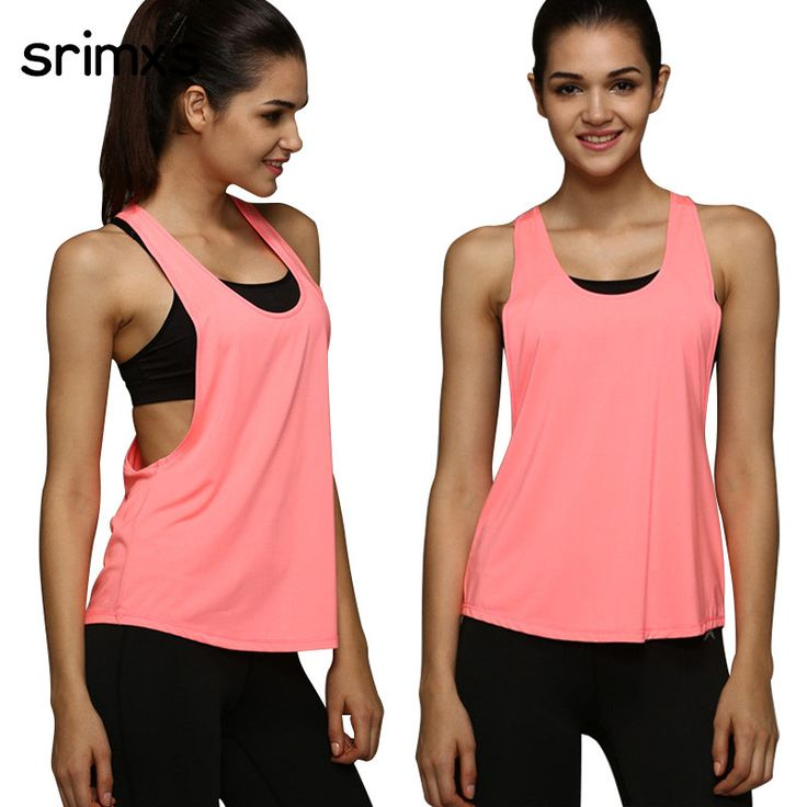 Latest arrival on our store: 4 Colors Women Sp.... See it here Now! http://www.yogamarkets.com/products/4-colors-women-sports-shirt-sleeveless-breathable-sport-jersey-cool-loose-yoga-top-fitness-running-t-shirt-women-sport-top?utm_campaign=social_autopilot&utm_source=pin&utm_medium=pin