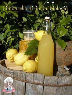 Il limoncello di limoni biologici è una vera chicca per gli amanti delle bevande fatte in casa in modo naturale... Non vi resta che provare questa ricetta!