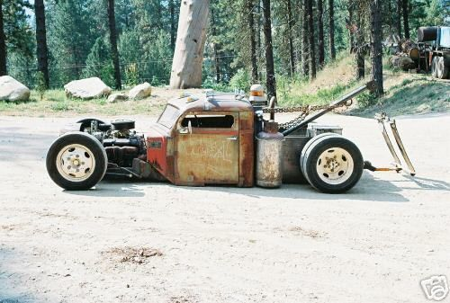Rat Rods PEDDLE CAR FOR SALE | rat rod is a style of hot rod or custom car that in most cases ...