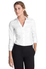 Basic witte blouse.